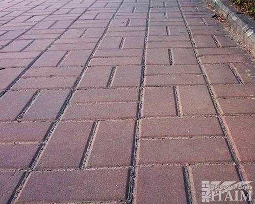 Bloquete de cimento para calçada