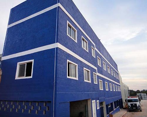Empresa de blocos de concreto