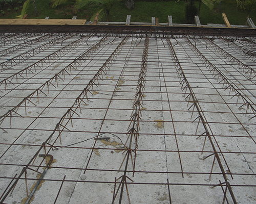 Fábrica de lajes de concreto